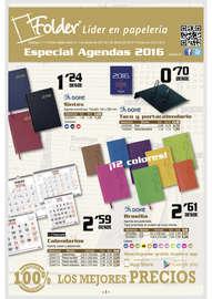 Especial agendas 2016