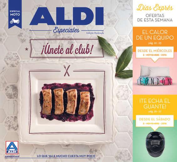 Ofertas de ALDI, ¡Únete al club!