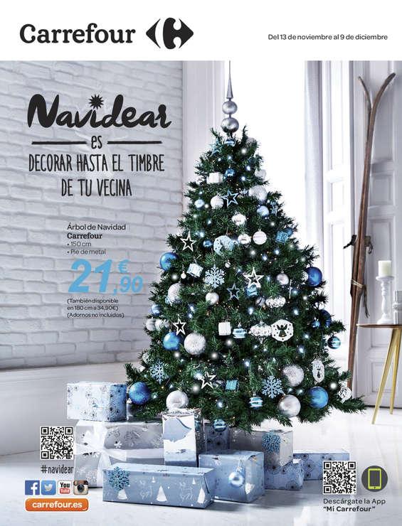 Ofertas de Carrefour, Navidear es decorar hasta el timbre de tu vecina