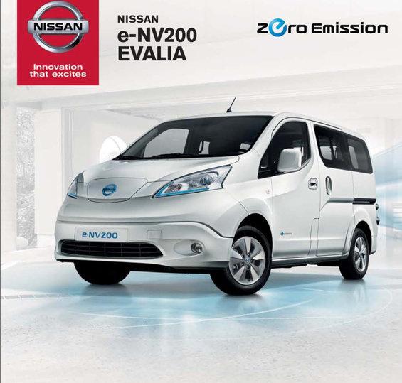 Ofertas de Nissan, EVALIA E-NV 200