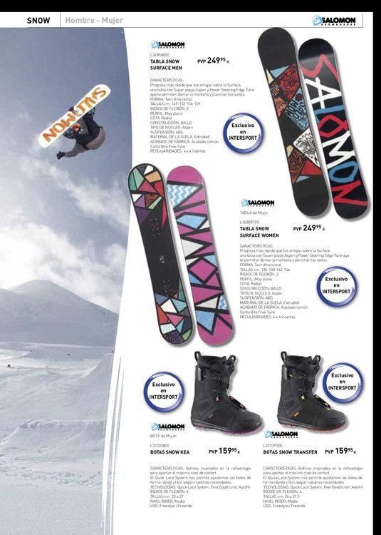 Ofertas de Intersport, Esquí y snow