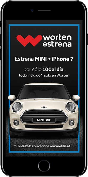 Ofertas de Worten, Estrena Mini + Iphone 7