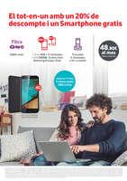 Ofertas de Vodafone, El tot-en-un amb un 20% de descompte i un Smartphone gratis