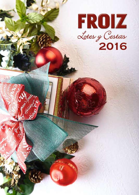 Ofertas de Hiper Froiz, Lotes y cestas Navidad 2016