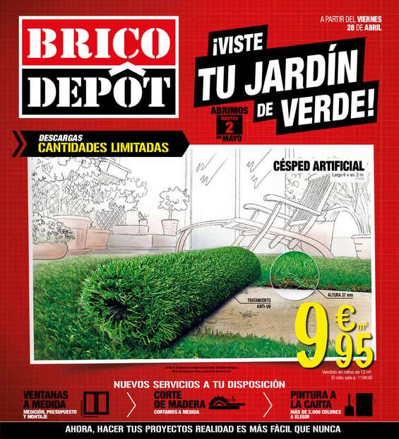 Ofertas de Bricodepot, ¡Viste tu jardín de verde!