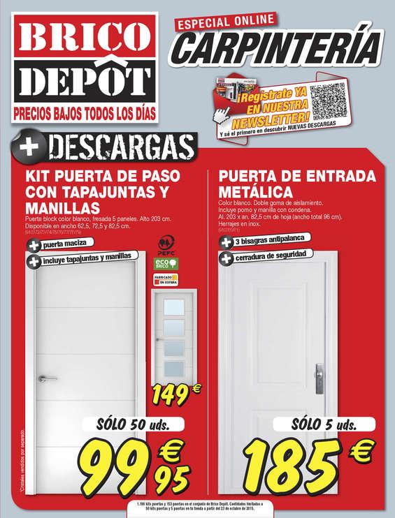 Ofertas de Bricodepot, Especial carpintería - Granada