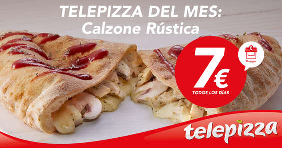 Ofertas de Telepizza, Telepizza del mes