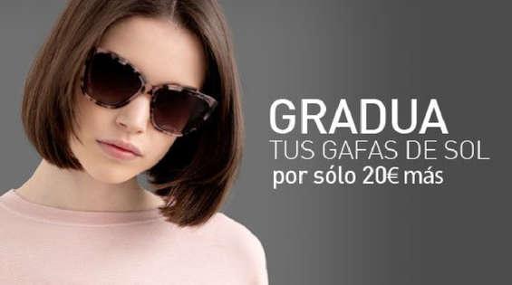 Ofertas de Opticalia, Gradua tus gafas de sol