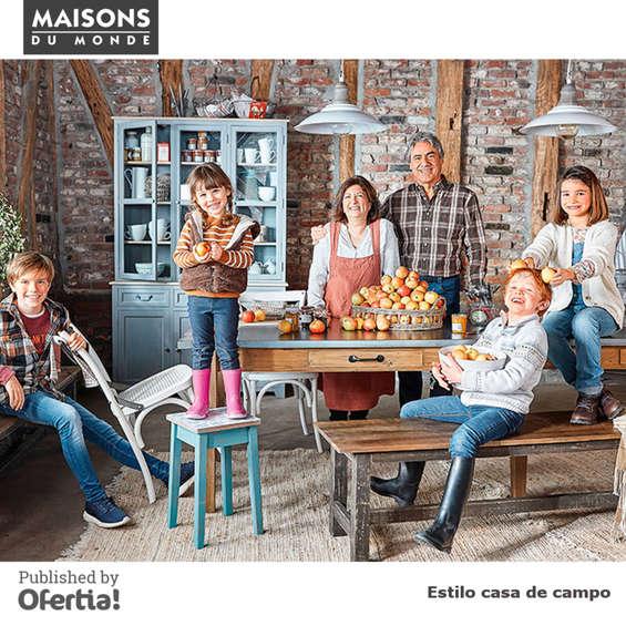 Ofertas de Maisons Du Monde, Estilo casa de campo