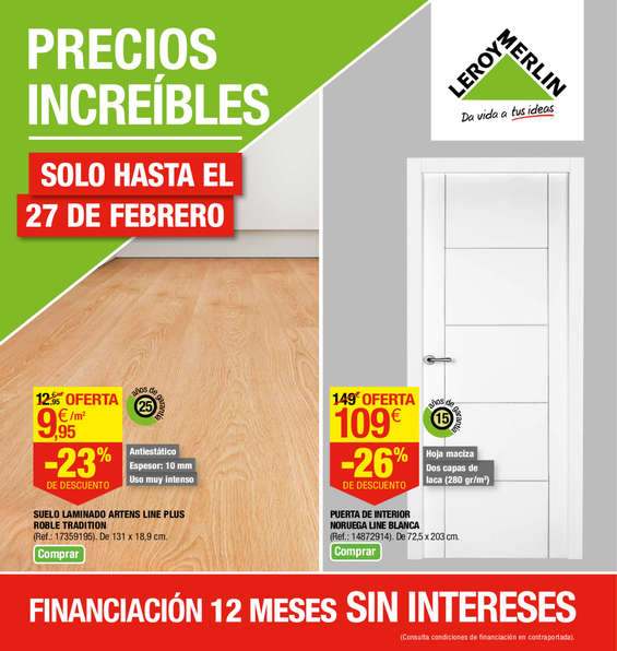 Leroy merlin madrid ofertas cat logo y folletos ofertia for Leroy merlin madrid catalogo