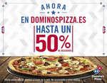 Ofertas de Domino's Pizza, 50%