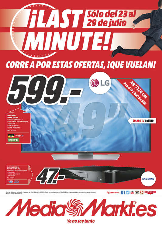 Ofertas de Media Markt, ¡Last Minute! - Lugo