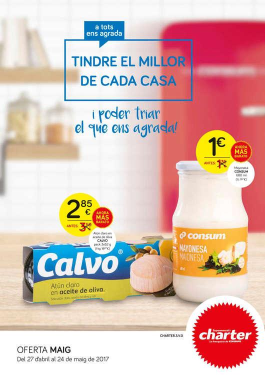 Ofertas de Supermercados Charter, Ací ho tens tot: el millor de cada casa