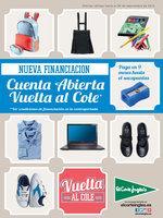 Ofertas de El Corte Inglés, Vuelta al Cole