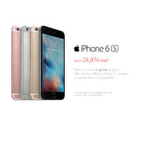 iPhone 6s desde 24,97€/mes