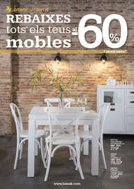 Rebaixes tots els teus mobles al -60% - Barcelona