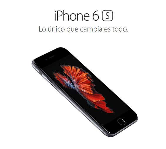 Ofertas de Apple Store, iPhone 6s