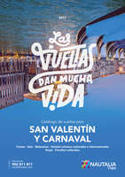Ofertas de Nautalia, San Valentín y Carnaval