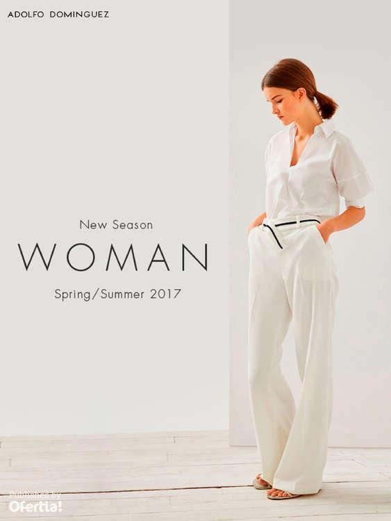Ofertas de Adolfo Domínguez, New Season. Woman Spring Summer 2017