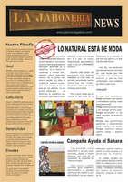 Ofertas de La Jabonería Galesa, Revista