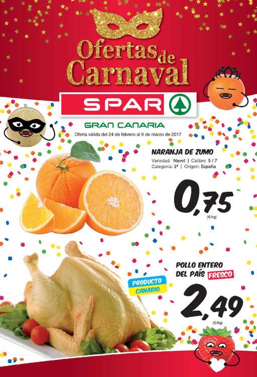 Ofertas de SPAR Gran Canaria, Ofertas