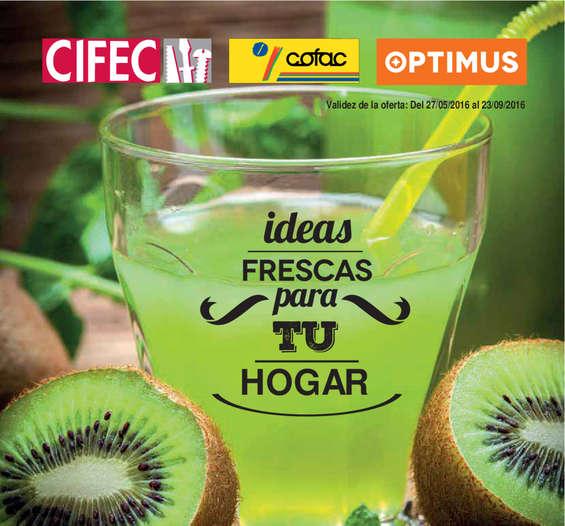 Ofertas de Cifec, Ideas frescas para tu hogar