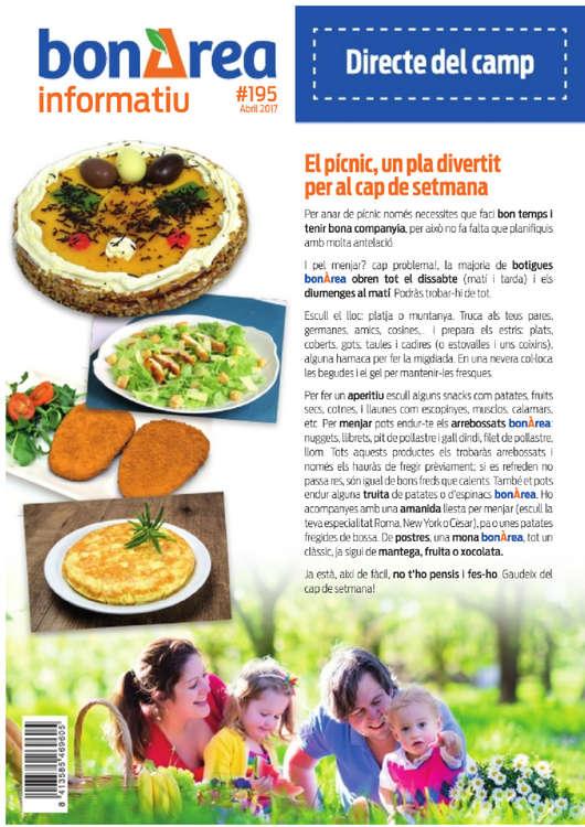 Ofertas de BonÀrea, El pícnic, un pla divertit per al cap de setmana
