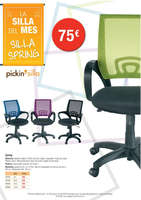 Ofertas de Picking Pack, La silla del mes