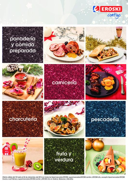 Ofertas de Eroski, Ofertas Frescos y recetas de Navidad