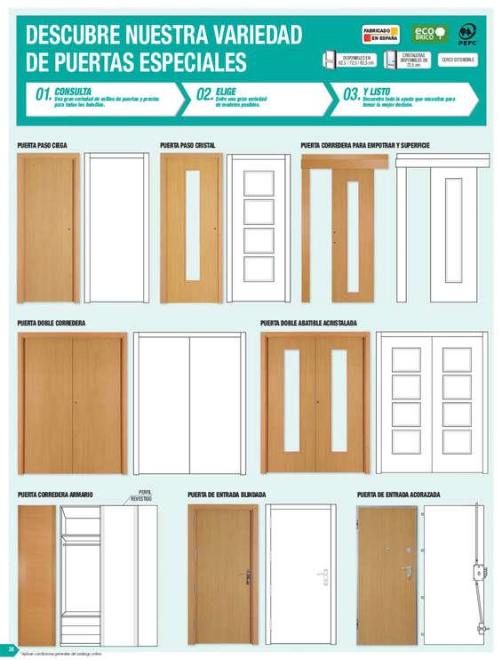 Bricodepot puertas ofertas y cat logos destacados ofertia for Puertas baratas bricomart