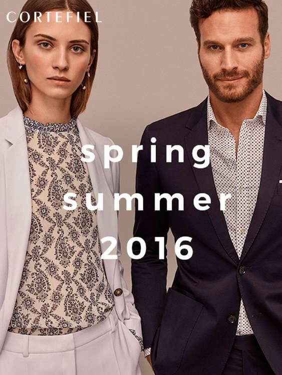 Ofertas de Cortefiel, Spring Summer 2016