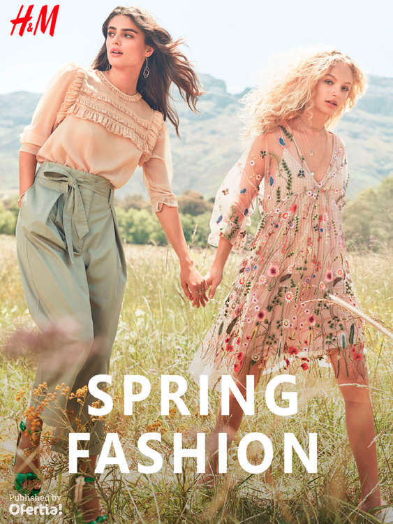 Ofertas de H&M, Spring Fashion