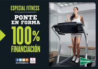 Especial Fitness. Ponte en forma con 100% Financiación