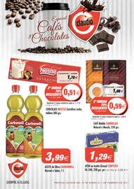 Especial cafés y chocolates