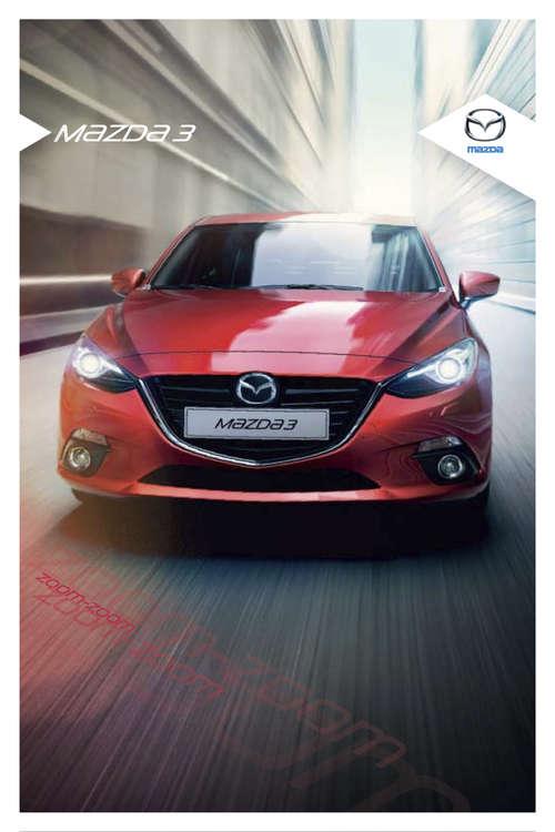 Ofertas de Mazda, Mazda 3