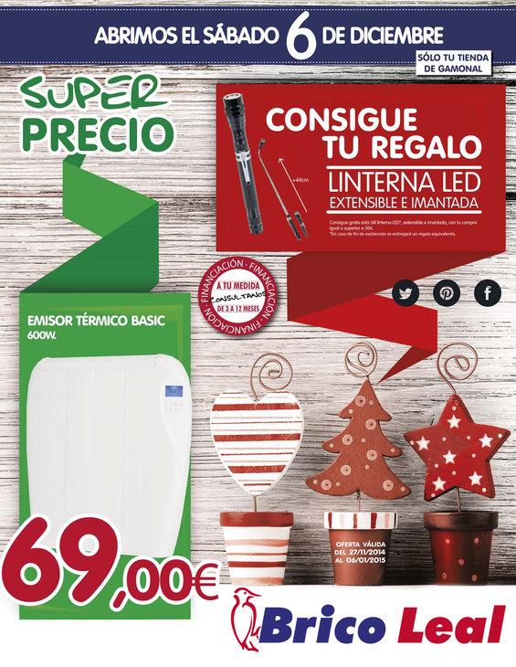 Ofertas de Bricocentro, Haz Especial esta Navidad Burgos