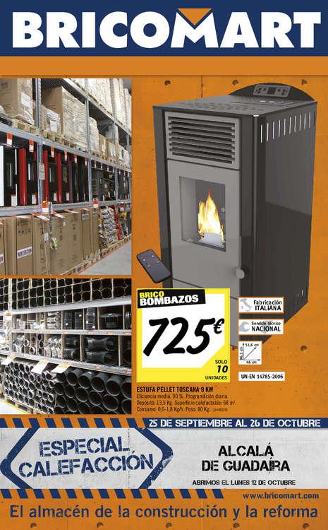 Ofertas de Bricomart, Especial calefacción