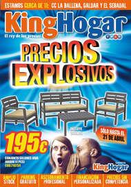 ¡Precios explosivos!