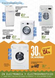 20% de descuento en electrónica y electrodomésticos