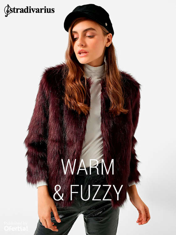 Ofertas de Stradivarius, Warm & Fuzzy