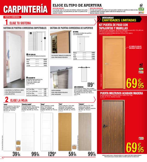 Puertas de madera brico depot simple puertas blindadas for Estanterias metalicas bricomart