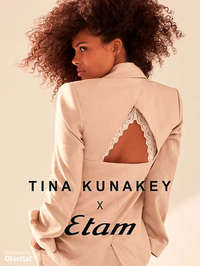 Tina Kunakey x Etam