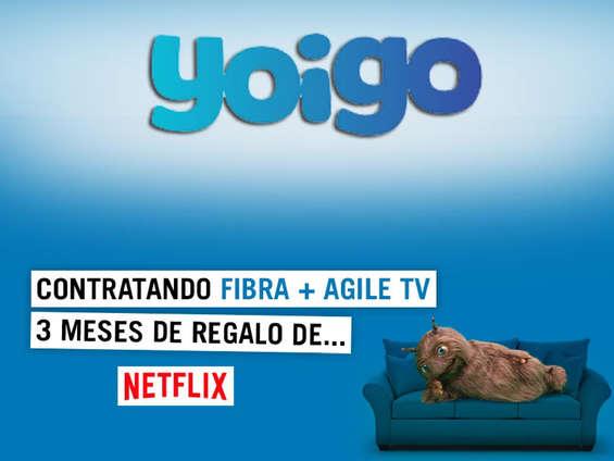 Ofertas de Yoigo, Netflix