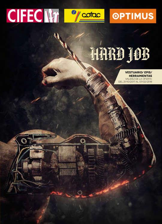 Ofertas de Cifec, Hard job
