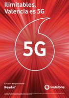 Ofertas de Vodafone, Ilimitables, Valencia es 5G
