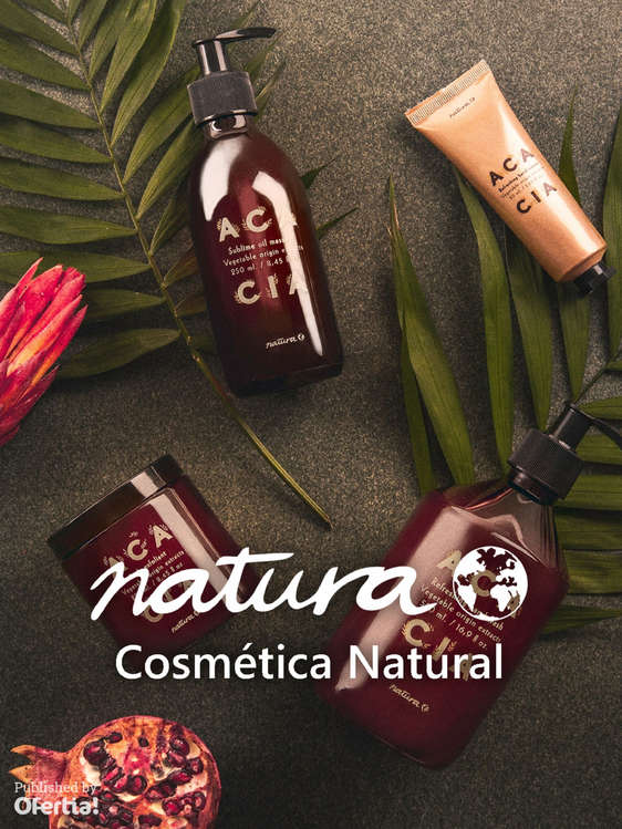 Ofertas de Natura, Cosmética Natural