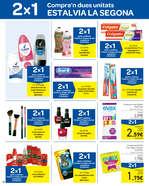 Ofertas de Carrefour, 2x1 Compra'n dues unitats, estalvia't la segona
