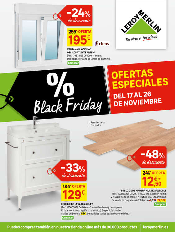 Ofertas de Leroy Merlin, Black Friday - Ofertas especiales