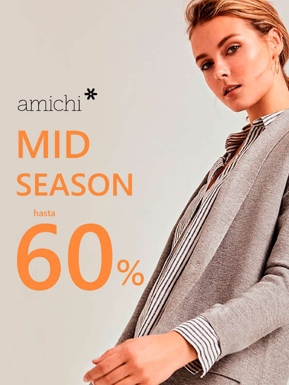 Ofertas de Amichi, Mid Season hasta -60%