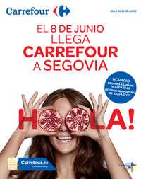 Llega Carrefour a Segovia